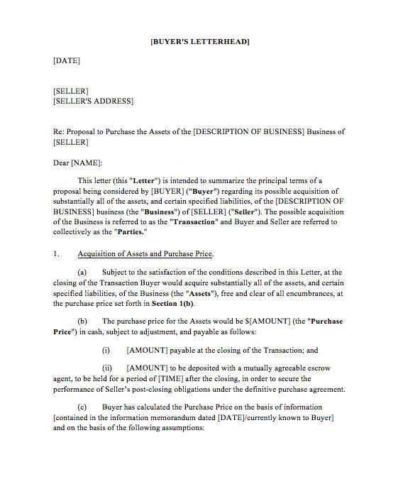 Letter of intent for business top form templates free templates letter of intent for business doc letter of intent for business purchase wajeb Gallery