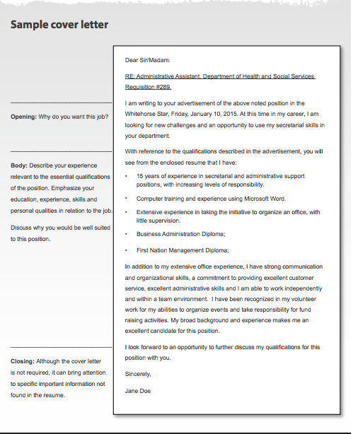 free sample cover letter for job application top form templates