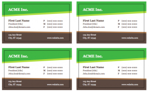 Free Business Card Templates, free business card design