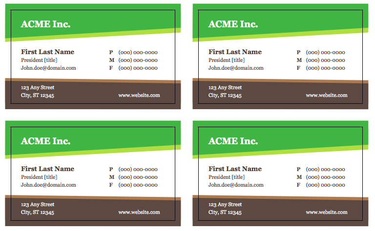 Free business card templates download top form templates for Free complimentary cards templates