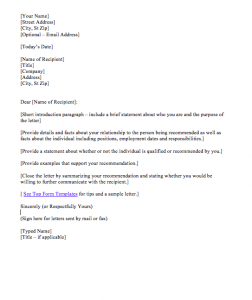 Reference Letter For Student Sample, reference letter for college student sample