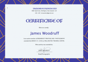 Free Certificate Templates For Word, editable certificate template