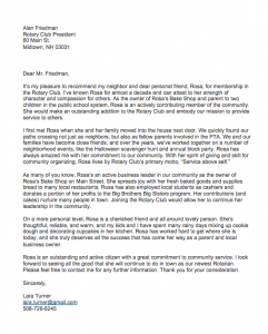 Sample Character Reference Letter For A Friend, Character reference for a friend for a job