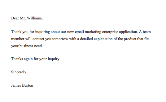 How To Reply Email Professionally Samples, sample email reply to customer enquiry