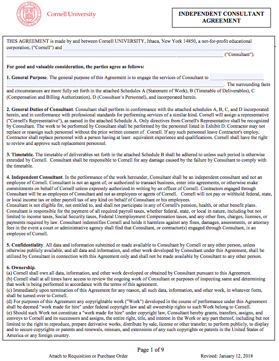Simple Consulting Agreement Template Top Form Templates