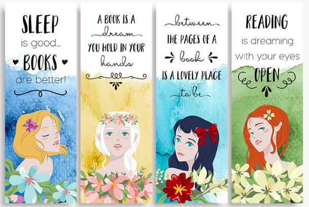 photograph relating to Free Printable Bookmarks With Quotes identify printable bookmark -