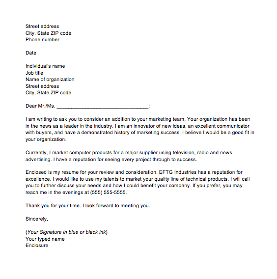 Letter of inquiry examples, Business inquiry letter sample