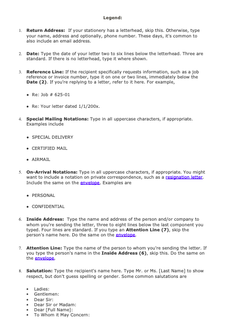 business letter example for students pdf business letter example for a company