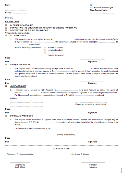 3 Application For Issue Cheque Book Top Form Templates Free
