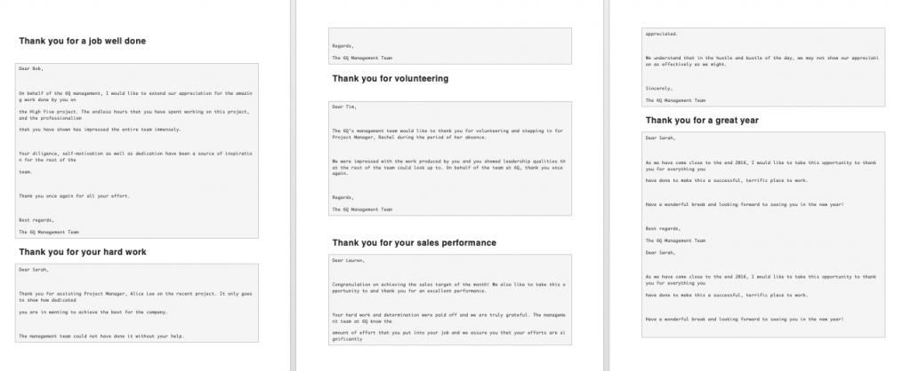 How To Write An Email To Your Employees Examples, email to all employees sample