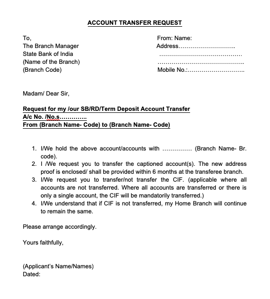 Bank Account Transfer Application