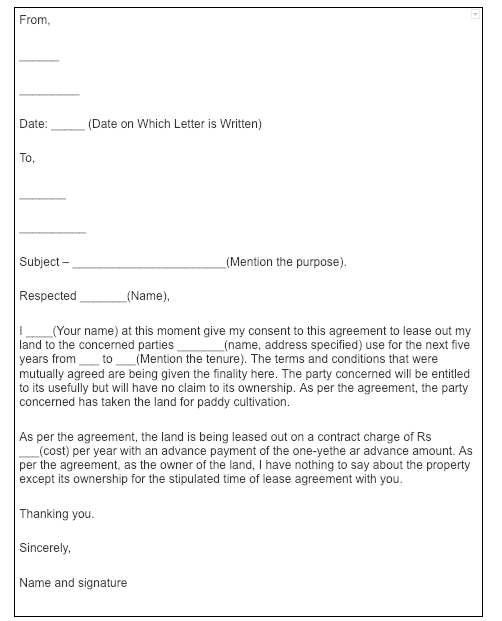 Termination Of Tenancy Agreement Letter